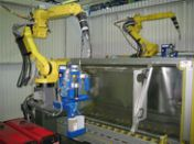Robotized welding system for «Schneider Electric»