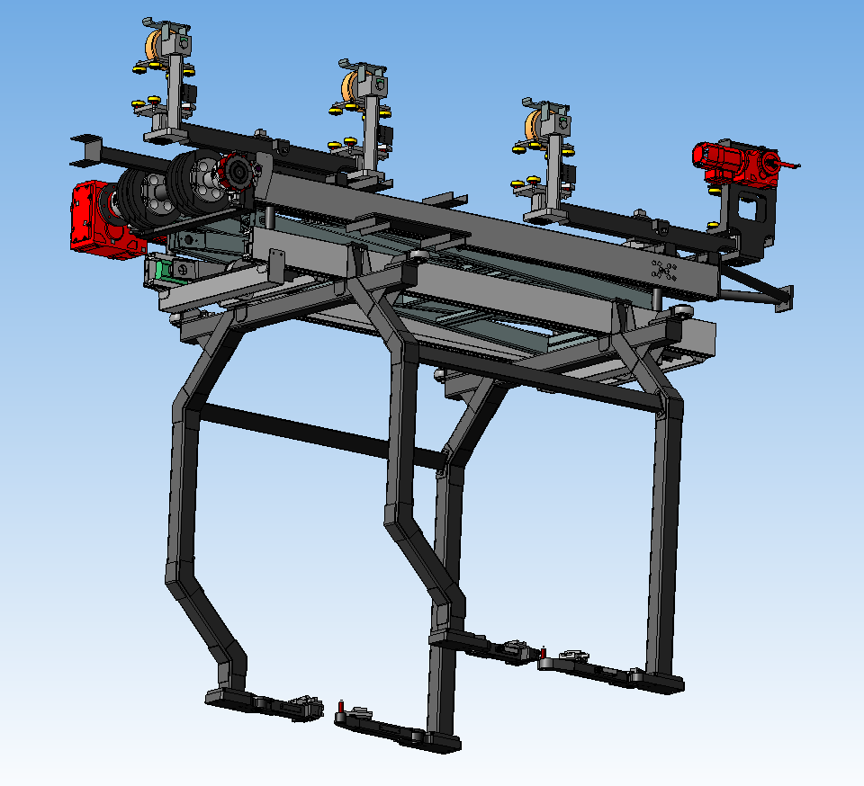 Carriers for EMS ( Carriers or Hangers for Electric monorail